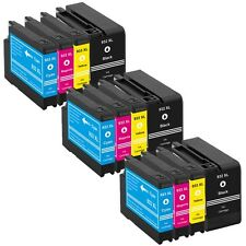 12 Ink Cartridge For HP 932XL 933XL OfficeJet 7110 7610 7612 7512 6100