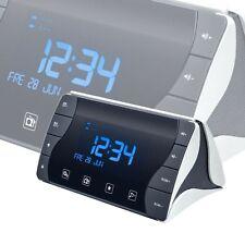 Radio Anlage Wecker LCD Display Lautsprecher Netzteil Big Ben RR50 schwarz weiß