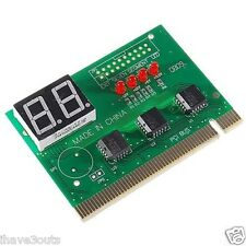 PC Computer Motherboard Repair Troubleshooting Diagnostic Card With Error Codes