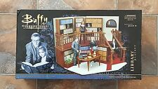 BUFFY VAMPIRE SLAYER SUNNYDALE HIGH SCHOOL LIBRARY PLAYSET REPLICA PLAN B - NEW