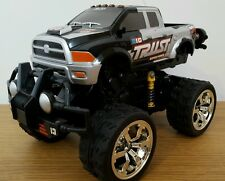 MONSTER TRUCK OFF ROAD STUNT WHEELIES RECHARGEABLE RADIO REMOTE CONTROL CAR 1:18