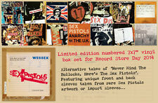 Sex Pistols Never Mind The Bollocks Alternative Takes RSD Record Store Day