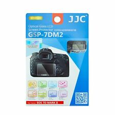 JJC GSP-7DM2 Thin Optical Glass LCD Screen Protector for Canon EOS 7D Mark II