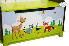 New Teamson Enchanted Woodlands Tox Box Chest Nursery Decor Childrens Furniture