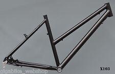 """Trekkingrad Sport Damen Rahmen 49 cm schwarz matt 28"""" Aluminium X103"""
