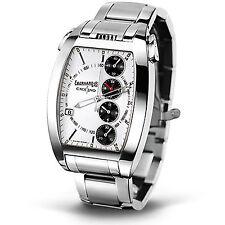Eberhard & Co. Chrono 4 Temerario Herrenuhr Armbanduhr Automatik Edelstahl NEU