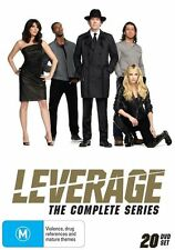LEVERAGE - SEASON 1-5 - THE COMPLETE SERIES (20 DVD SET) BRAND NEW!!! SEALED!!!