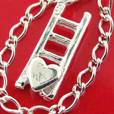 69 GENUINE HALLMARKED REAL 925 STERLING SILVER AUTHENTIC CHARM BRACELET BANGLE