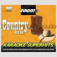 Zoom Karaoke Country Superhits - 3 Disc Set CDG/CD+G