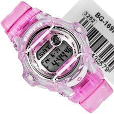 Casio Baby-G Womens Digital Wrist Watch BG169R-4 Pink New