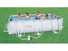 "Bestway ""Steel Pro"" Frame Pool Schwimmbecken Set Swimmingpool 404x201x100 cm"