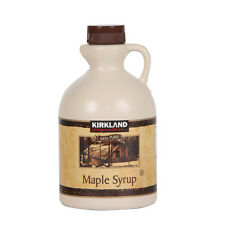 Kirkland Signature 100% Pure Maple Syrup 1 Litre Grade A Canadian Maple Syrup