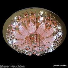 Design LED Deckenleuchte 3/6/9- flg.,Fernbedienung, Farbwechsel, Kronleuchter