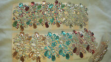 Joblot 12 pcs Bow Design Sparkly hairclips hairgrips NEW wholesale lot B