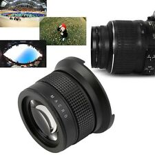 0.35X58MM Camera Super HD Wide Angle Fisheye Lens With Macro for Canon EOS UR