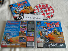 Looney Tunes Racing PS1 (COMPLETE) black label bugs bunny Sony PlayStation