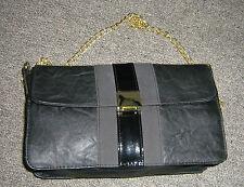 *** NEW shoulder bag SHISEIDO black and gold