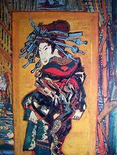 van gogh JAPANESE ART 1887 japonaiserie SCHAUSPIELER kunstdruck JAPONISMUS japan