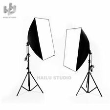 Photography Studio Soft Box Light Video Softbox Continuous Lighting Stand Kit