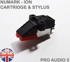 Numark ION Cartridge & Stylus For Groovetool GT, TTUSB TT1600 TT1610 TT1625 UK