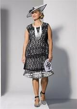 WOMENS PLUS SIZE 18 VIRTUELLE STUNNING DECO DRESS NEW WITH TAG