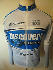 mens NIKE discovery channel cycling jacket - size L great condition