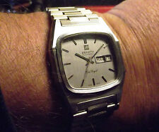ZENITH PORT ROYAL - VINTAGE AUTOMATIC DAY DATE- ALL STAINLESS STEEL  SWISS MADE