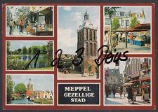 733Q)  Ansichtskarte  AK   Meppel   6 Motive    Holland   Niederlande