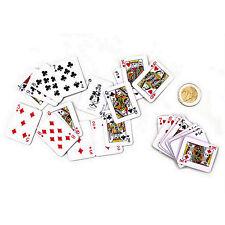 10 x mini Kartenspiel mit je 54 Spielkarten Romme Kindergeburtstag Mitgebsel