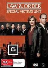 Law And Order - SVU : Season 6 (DVD, 2008, 5-Disc set) LIKE NEW .... R4