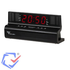 Radiowecker Wecker Uhrenradio  LED-Display UKW FM Uhren-Radio Dual Alarm TOP+