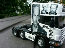 paul walker fast and furious tribute TRUCK DIECAST MODEL LORRY 1:50 code 3