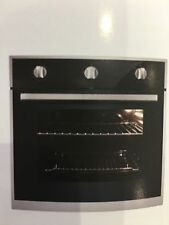 Essentials PPMM60 Built In 60cm Single Cavity Gas Single Oven Black & S/S