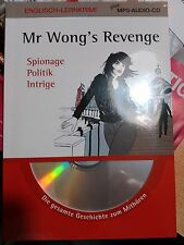 Englisch Lernkrimi + MP3-Audio-CD Mr Wong´s Revenge ( Sprachniveau B1/B2 )