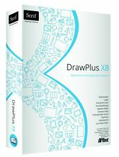 Serif DrawPlus X8 Draw Plus deutsch Box Version
