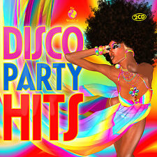 CD Disco Party Hits von Various Artists 2CDs