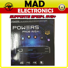POWERS M408 AVS+ HDMI DVB-S2 MPEG4 HD Digital Satellite Receiver for Portuguese