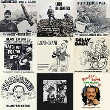 Blaster Bates - 9 Volume - Complete LP Collection on mp3 CD Audiobook