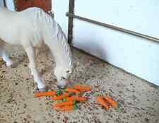 Karotten / Futter für Schleich Pferde / Tiere / Modellpferde