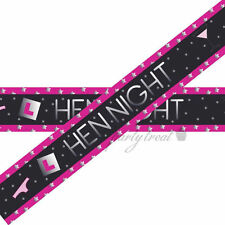 Hens Night Party Supplies Banner Foil Bunting Bridal Shower Decoration CLEARANCE