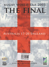 The Rugby World Cup Final 2003 - The Final (DVD, 2013, 2-Disc Set)