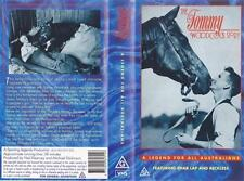 HORSE RACING THE TOMMY WOODCOCK STORY   VHS PAL~ A RARE FIND