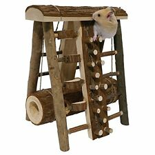 Small Pet Mouse Gerbil Hamster Climbing Frame Activity Assault Course Play Toy