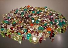 100+ CT MIX LOT LOOSE FACETED NATURAL GEMSTONES MIXED GEMS WHOLESALE LOOSE G
