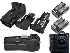 New Vertical Battery Grip D-BG5 for Pentax K-3 K3 Camera + 2x D-Li90 Battery Kit