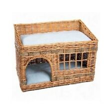 Woven Cat Den Cushion Cats Bed Double Kitten Beds Large Pet House Pets Houses