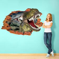 3D Dinosaur T-Rex DIY Wall Stickers Decals Home Decor Art Removable Vinyl Murals