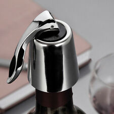 Vacuum  Plug Sealed Bottle Stopper Red Wine Cap New Stainless Steel  Reusable