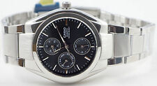 Casio MTP-1191A-1AD Men's Analog Watch Steel Band Dress Day & Date Display New