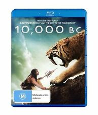 10,000 BC Blu Ray New/Sealed Region B